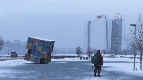Crossconnectmag: Futuristic Art by Simon Stålenhag The acclaimed