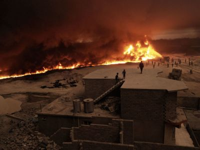 The Day the Sun Never Rose: Joey L Captures Harrowing Images in Iraq