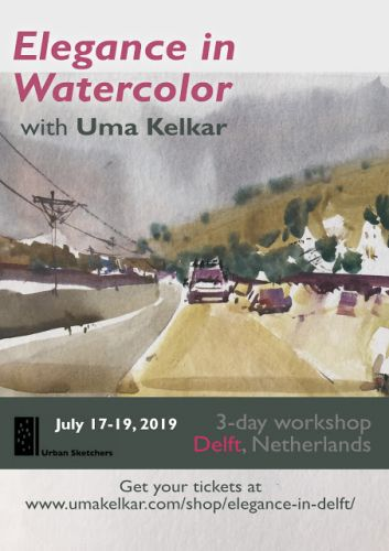 USk Workshop: Elegance in Watercolor