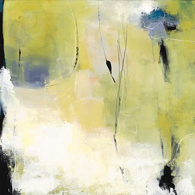 "Abstract Art, Expressionism, Contemporary Painting ""Good Morning Sunshine"" by Contemporary Artist Maggie Demarco"