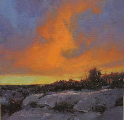 "DPW Auction: Canyonland's Ending - oil - 8""x8"" - SOLD!"