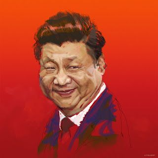 Quick sketch painting of Xi Jinping!