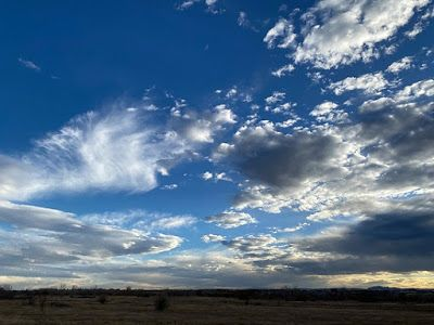 "Nature Fine Art Photography, Landscape ""Denver Sky, November 4th"" by Colorado Photographer Kit Hedman, Boarding House Studio Galleries, Denver"