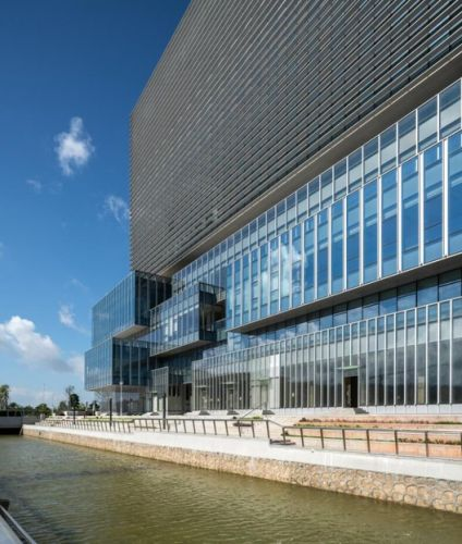Headquarters For Traditional Chinese Medicine Science and Technology Industrial Park / Aedas
