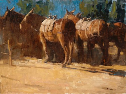 Mules, Cylinders, Brushstrokes and Leaving Stuff Out