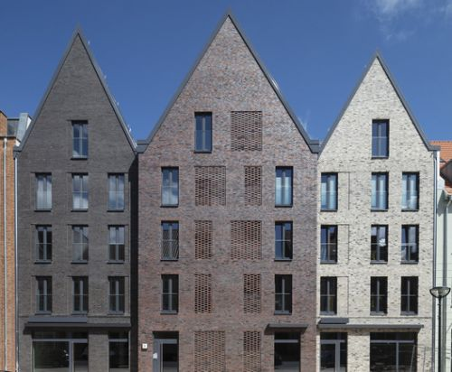 Three Gable House Steinstrasse 20 / Tchoban Voss Architekten