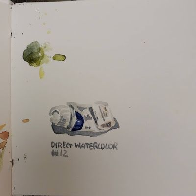 Direct Watercolor 12 - Holbein Paint Tube