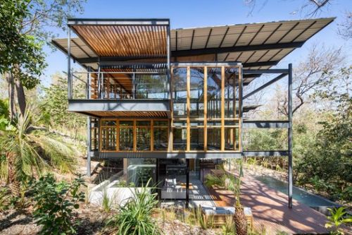 Jungle Frame House / Studio Saxe