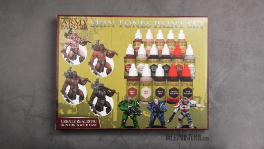 Review: Skin Tones Paint Set by The Army Painter
