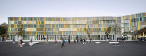 A New College in a French Village / CoCo architecture + Jean de Giacinto Architecture Composite