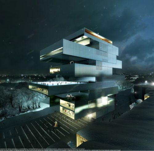 Heneghan Peng's Moscow Contemporary Arts Center Scrapped Due to Funding Shortage