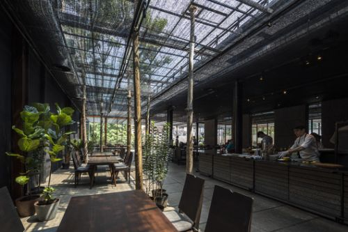Restaurant of Shade / NISHIZAWAARCHITECTS