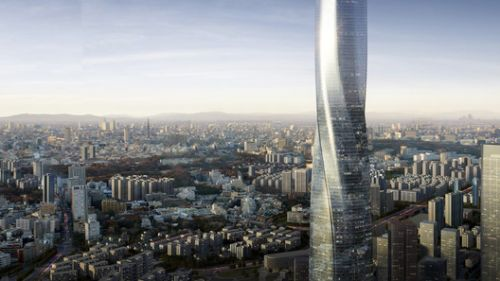 EID Architecture Creates Twisting Supertall Tower for Fuzhou, China