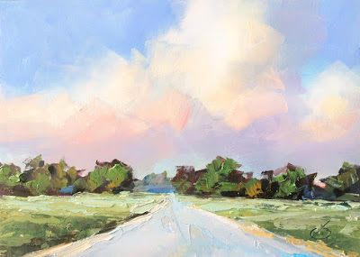 ROAD, SKY, LANDSCAPE by TOM BROWN