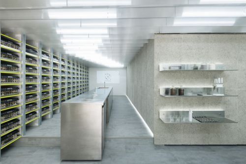 Exofood Retail and Lab / space+craft