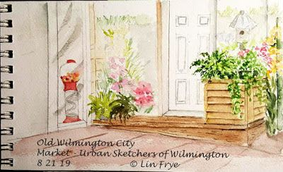 Journal - City Market - Urban Sketchers of Wilmington