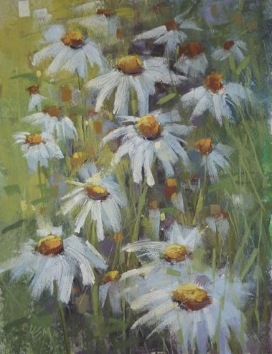 Step by Step to a Daisy Painting
