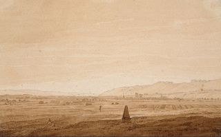 Caspar David Friedrich. A Virgo birthday for this painter of romantic and mysterious landscapes