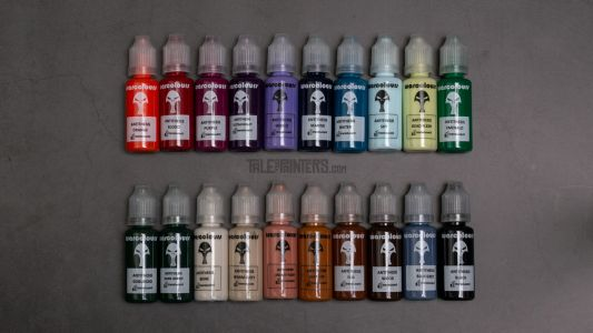 Review: Antithesis paints by Warcolours - the Contrast paints killer?