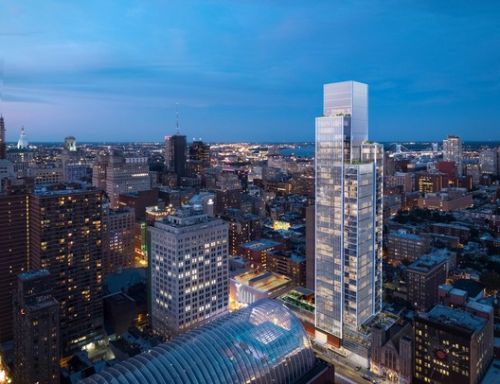 KPF Breaks Ground on First Philadelphia Residential Tower