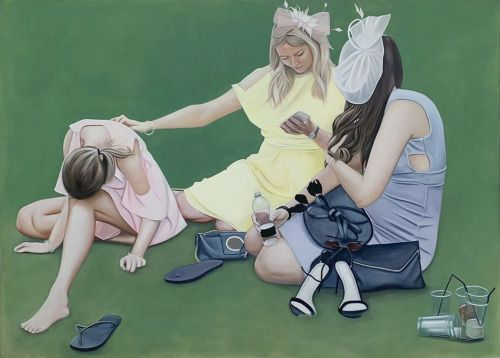A day at the races, Lydia Blakeley