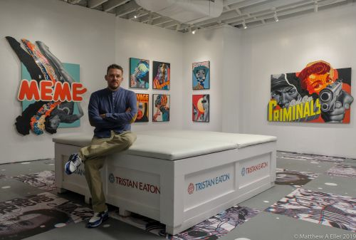 "Interview & Coverage - Tristan Eaton ""Strange Future"" An Exhibition of New Works NYC"