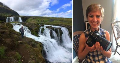 Guy Surprised with DSLR He Dropped Into a Waterfall in Iceland