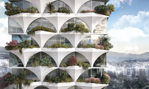 ODD Architects Creates Sunflower-Inspired Residential Tower for Ecuador
