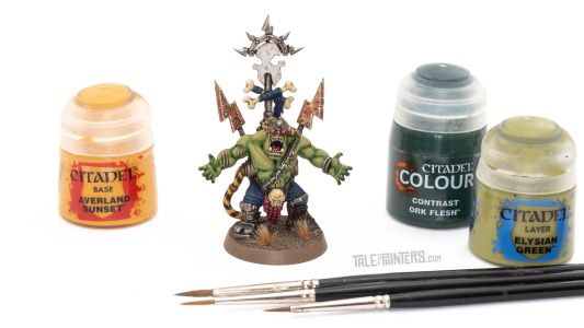 Tutorial: How to paint an Ork Beast Snagga Wurrboy