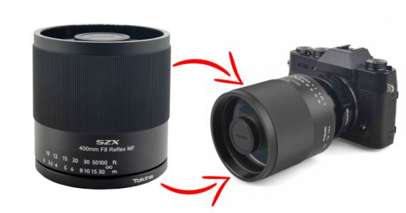 Tokina Unveils Ultra-Compact 400mm f/8 Mirror Lens for Modern Cameras