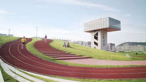 Second Stage of Hangzhou Yunqi Town Exhibition Centre / Zhejiang University Urban-Rural Planning&Design Institute
