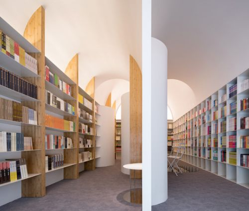 Longshang Books Cafe / Atelier Mearc