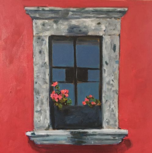 Memories of San Miguel de Allende, Acrylic 16x20 by Kelley MacDonald
