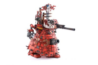Showcase: Orks Buzzgob's Big Mek Stompa by ComradeQuiche