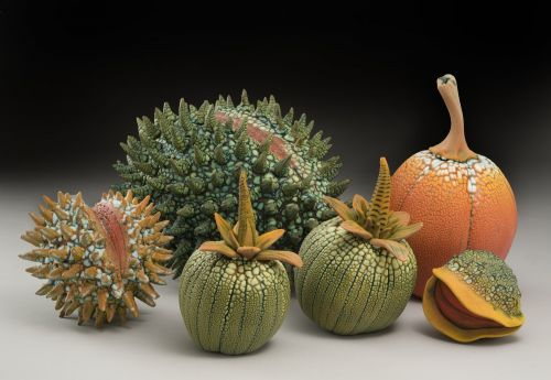 Otherworldly Tropical Fruits and Plants From the Imagination of Ceramicist William Kidd