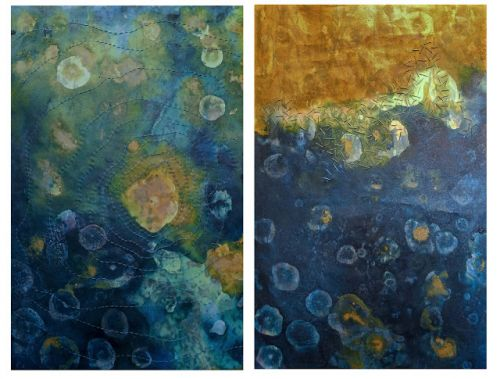 Surge Diptych Sold to Rutgers University - Camden