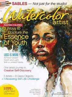 Featured in Watercolor Artist and Splash 18