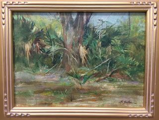 My First Florida On Location Painting!