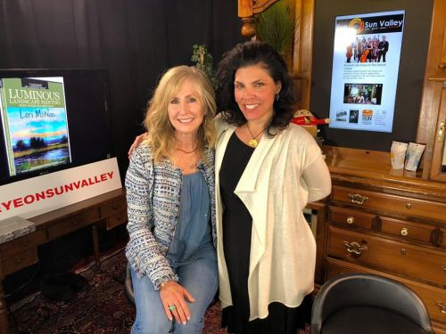Eye On Sun Valley Live Interview with Lori McNee of Fine Art Tips