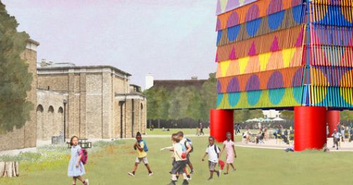 """The Colour Palace"" Chosen to be the 2019 Dulwich Pavilion in London"