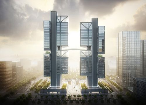 Foster + Partners Unveil Images for Towering DJI Robotics Headquarters in Shenzhen