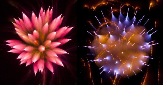 How to Shoot Defocused Firework Photos
