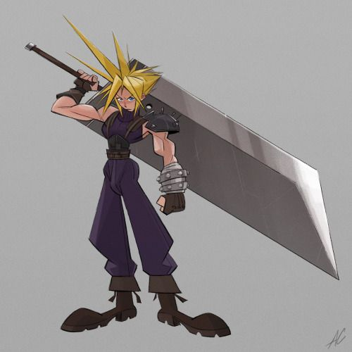 Here's Cloud Strife!