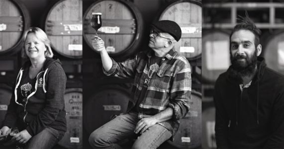 Photographing Portraits of Brewers and Developing the Film in Their Beer
