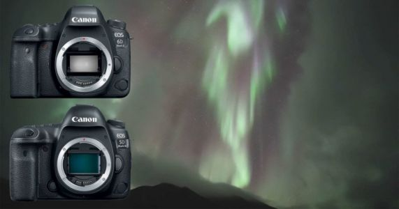 Pushing Canon DSLRs to the Low-Light Limit: Shooting Auroras Live