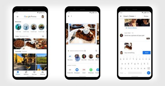 Google Photos Adds Direct Messaging Feature for Faster Photo Sharing