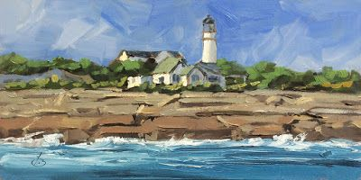 TWO LIGHTS STATE PARK by TOM BROWN