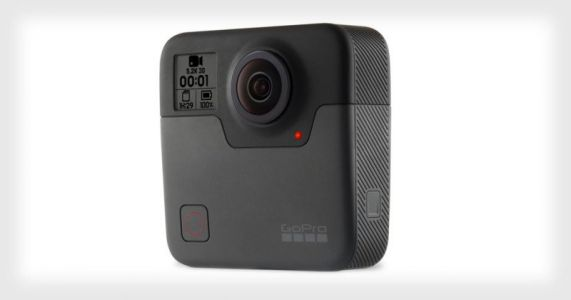 GoPro Unveils the Fusion, a 5.2K 360° Camera with OverCapture