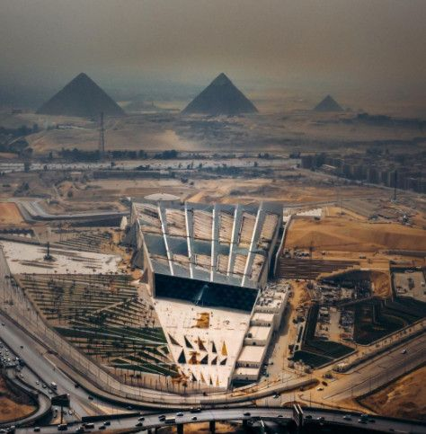 Grand Egyptian Museum Gives Historic Artifacts a Modern Context
