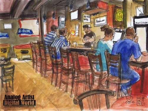 Orlando Drink and Draw 10